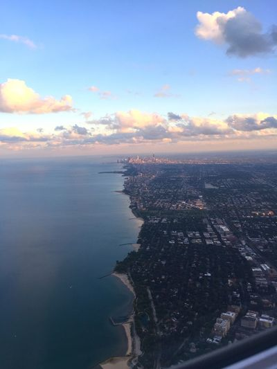 View Lake Michigan Cityscapes