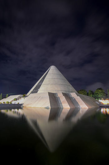 Landmark of the struggle the people in Jogjakarta City Ancient Civilization Pyramid Ancient History War Monument Old Ruin Sky Architecture Pyramid Shape Triangle Shape Astronomy Space And Astronomy Planetary Moon Egyptian Culture Bunting High Voltage Sign Star Field Constellation Moon Surface Star Trail Office Building Spiral Galaxy Star - Space Infinity Geometric Shape Astrology Nebula Ancient Egyptian Culture