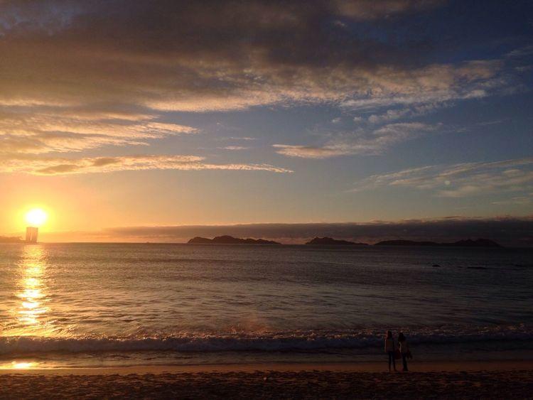 Enjoying The Sun Sea Relaxing Vigo, Galicia (España) #vigo #galicia #pontevedra #spain #españa