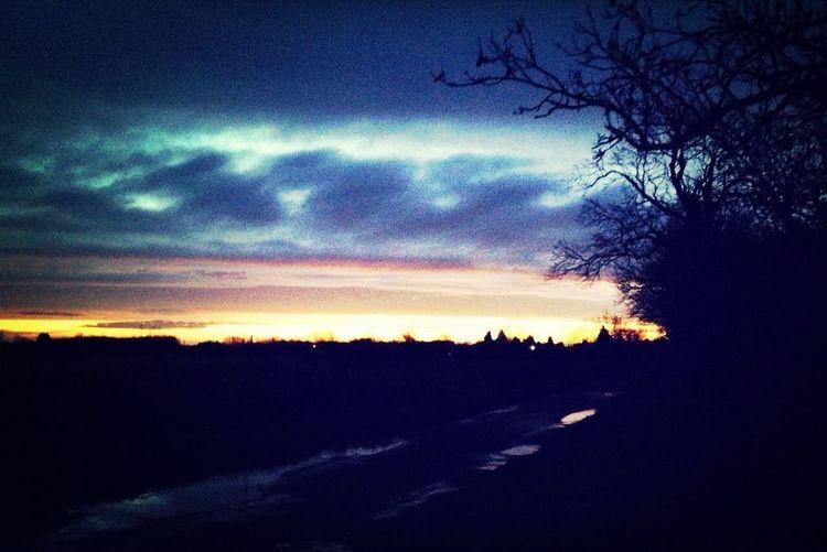Sunrise England Nature Skyporn
