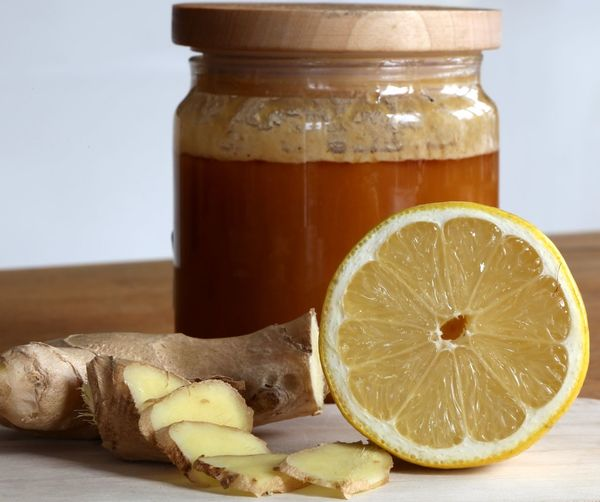 Lemon Ginger Resilienz Honeycomb Honey Vitamin C Flu Resilient Nature Resilience  Resilience  Winter No People Ailment Ailments Indoors  Table Natural Medicine Indoors  Resilience  Cure