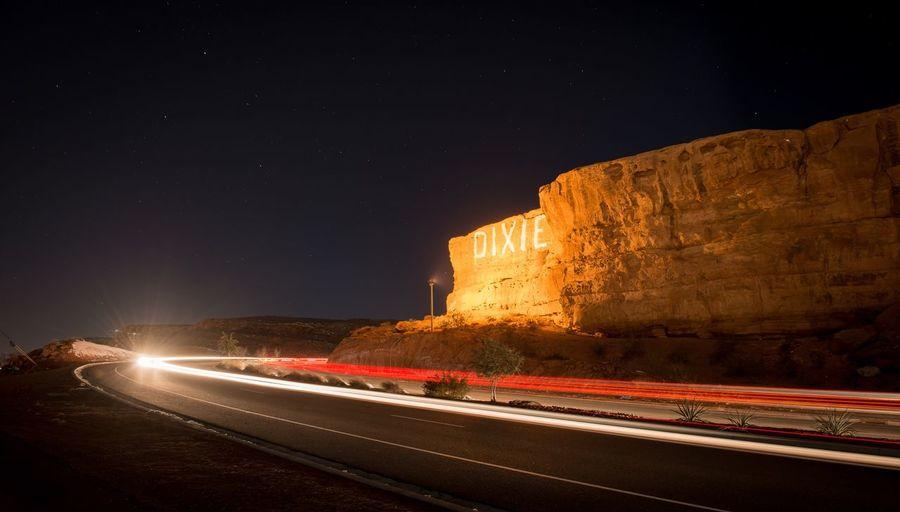 Southern Utah Southernuath Utah The Great Outdoors - 2016 EyeEm Awards Lighttrails dixie