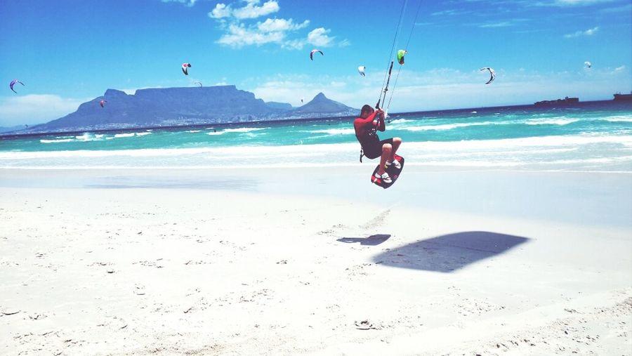 Kitesurf Kitesurfing Capetown Beach