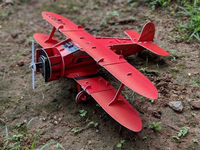 Assembled Plane
