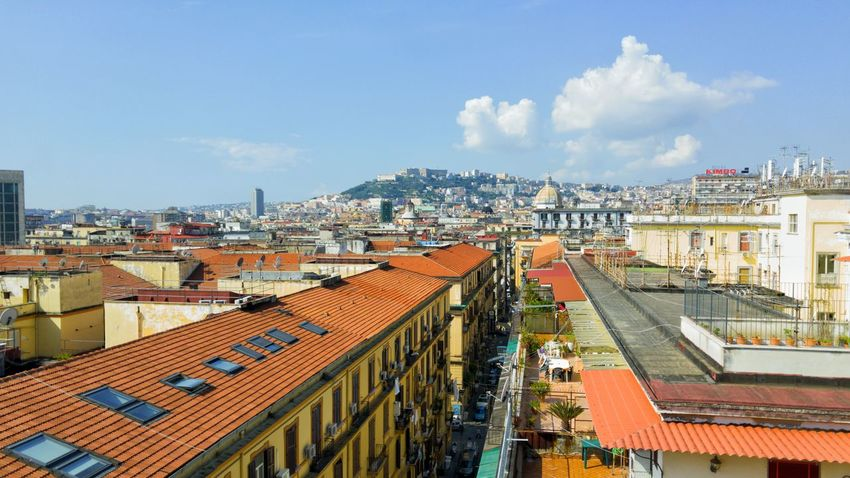 Naples, napoli, castello, castle, sant'elmo, landscape, panorama People And Places A Bird's Eye View Hello World Bay Of Naples, Italy. Enjoying Life Hidden Gems  EyeEmNewHere