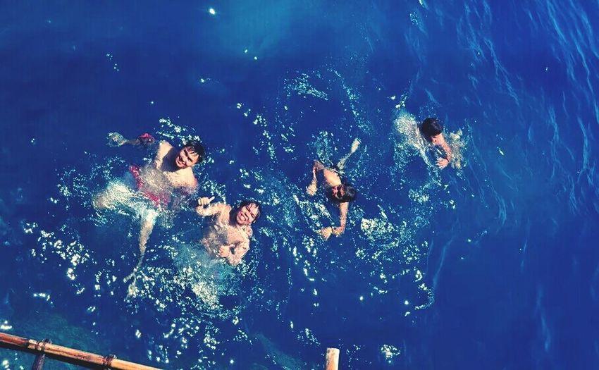 Boracay Adventure Cliff Diving Boys