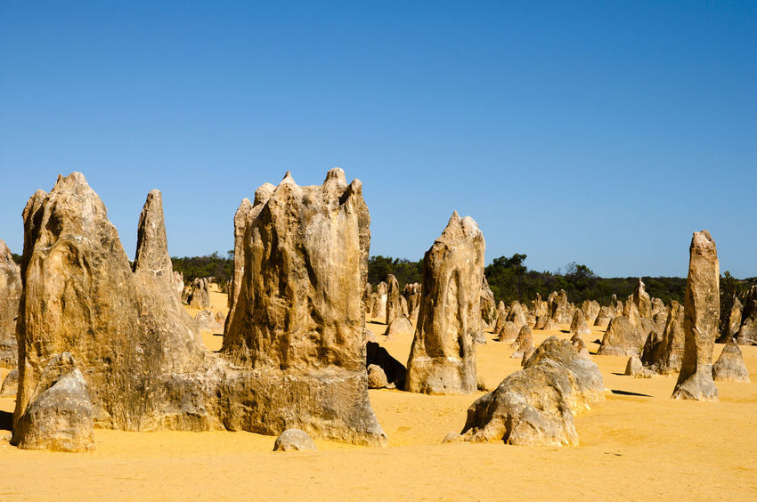 The Pinnacles - Australia Australia Desert Pinnacles Rock Formation The Pinnacles Arid Climate Karst Nambung National Park Rock - Object Sand