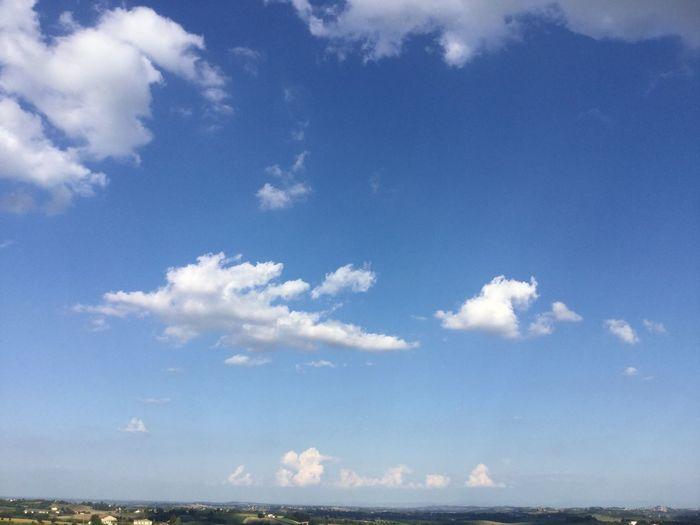 Nubi alte su cave di Moleto Sky Cloud - Sky Beauty In Nature Tranquility Blue Scenics - Nature Tranquil Scene