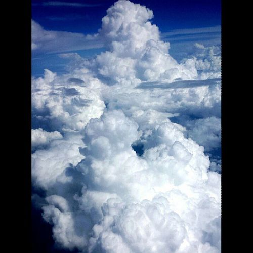 Forever fascinated by the world. Planepicture Parttwo Clouds Sky