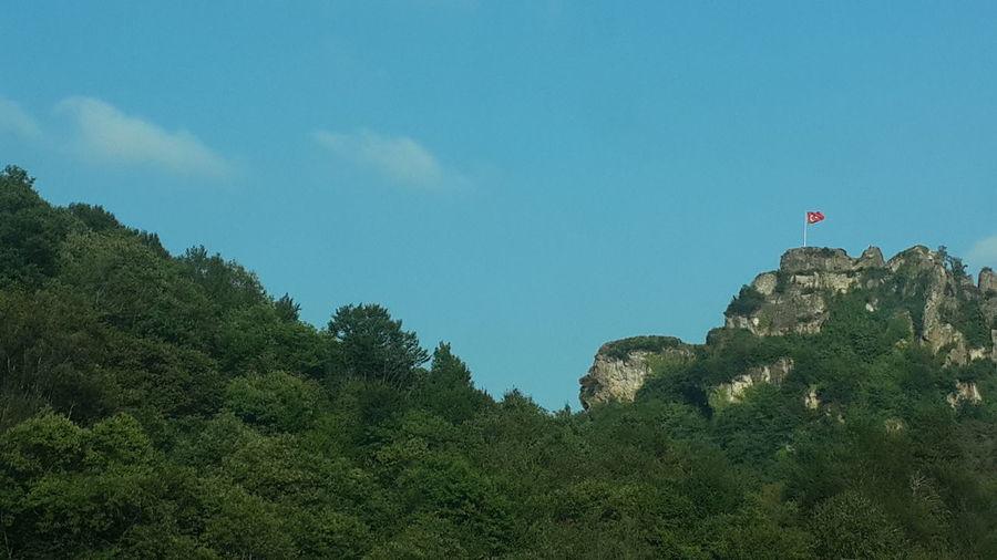 Ünye Ordu Türkiye ! Castle Flag Landscape Historical