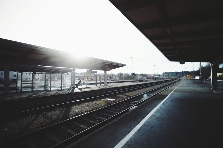 Traveling Home For The Holidays Travel Railroad Station Transportation Railroad Station Platform Rail Transportation Built Structure Business Finance And Industry Public Transportation Outdoors Architecture People Night Sky