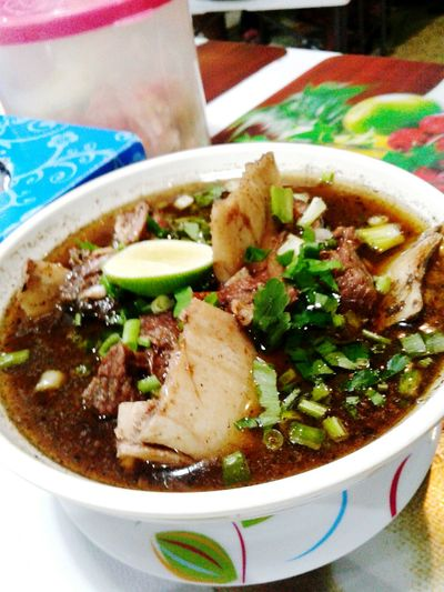 Soup Konro Indonesian Food Beef Bowls Lovely Food Celebes Ready-to-eat Food Bowl Soup Food And Drink Healthy Eating No People Close-up Freshness Indoors  Day