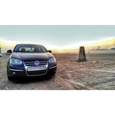 I Have To Admit This, Volkswagon Jetta Is One Of The Most Unique,Confortable, and Amazing V4 I Have Ever Driven. VW Germany الثمامة تصويري Sunset