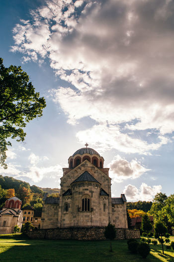 Studenica monastery Architecture Built Structure Cloud - Sky Building Exterior Building The Past History Religion Spirituality Travel Destinations Belief Serbia Srbija Ortodox Church Monastery Byzantine Architecture Byzantine Monastery