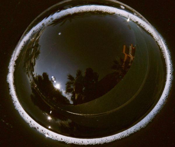 Im Brunnen Natur-Fis No People Outdoors Seifenblase Spiegelung Water