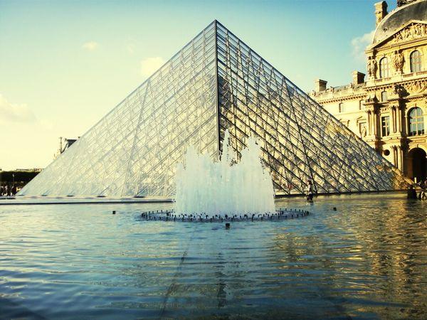 Louvre Pyramide Du Louvre Musée Du Louvre Le Louvre