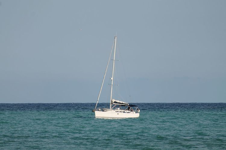 Sea Business Finance And Industry Nautical Vessel Horizon Over Water Day Sailing Water No People Outdoors Sailboat Business Nature Sky Harbor
