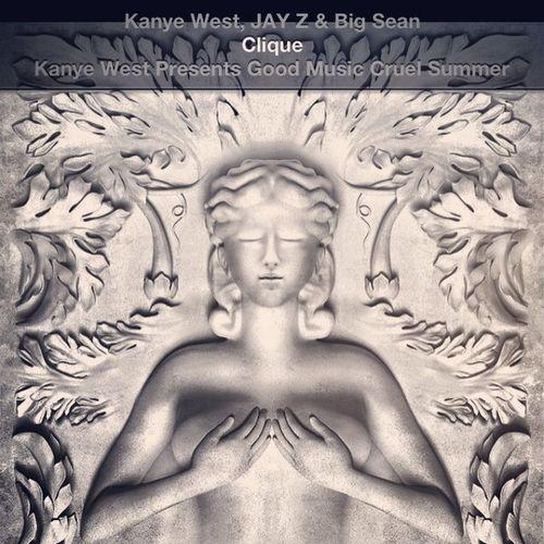 #motherfucking #clique #jay #kanye #bigsean #music #goodshit