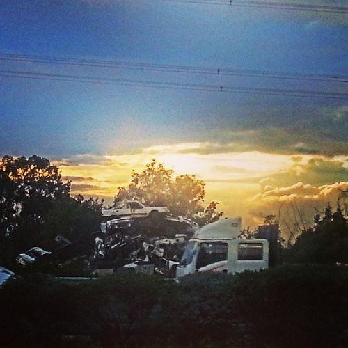 Car & Sunset
