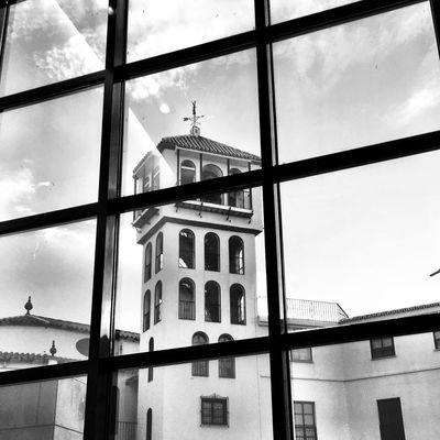 Mientras tanto Black And White Monochrome Bw_collection Blackandwhite Streetphoto_bw Malaga Arquitecture