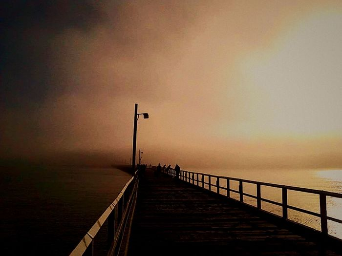 lonely pier Pier