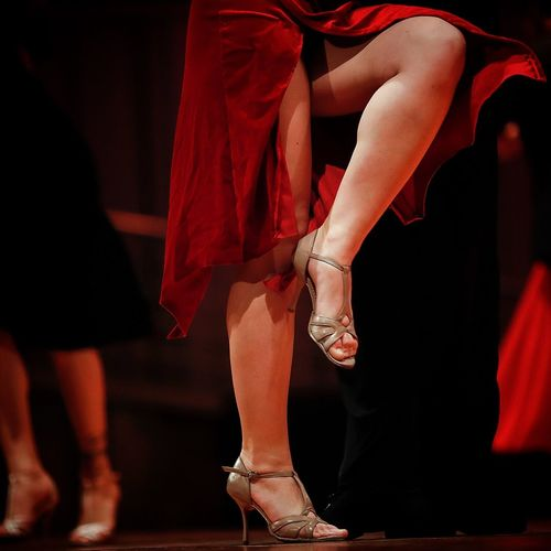 Adult Body Part Clothing Dancing Fashion Group Of People High Heels Human Body Part Human Foot Human Leg Human Limb Indoors  Lifestyles Limb Low Section Nightlife People Performance Real People Red Shoe Sitting Skill  Stage Women