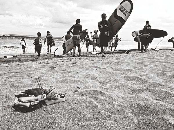 Ke laut aja Capa Filter Bali Pantai Kuta (Kuta Beach)
