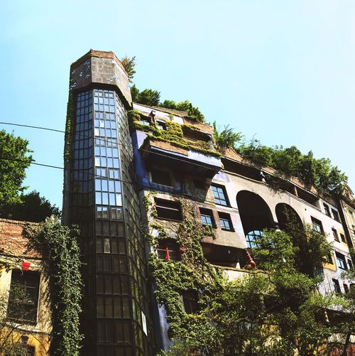 Art Architecture Hundertwasser Nature Urban Garden Looking Into The Future Urban Gardening