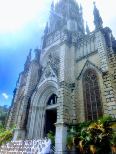 God Petrópolis Rj Petropolis Church Império Português Sky God God's Beauty Great Yeshua Jesuschrist City Place Of Worship Spirituality Religion Arch History Sky Architecture Building Exterior Built Structure Waterfall Architectural Column Historic Passageway