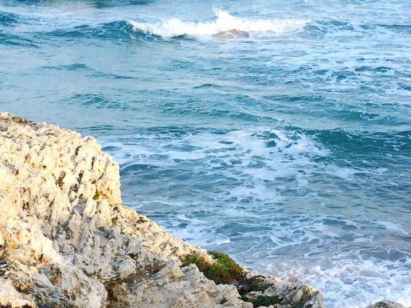 Sea Ocean View Waves Waves, Ocean, Nature Mallorca Pattern, Texture, Shape And Form Nature_collection Seaporn Mediterranean  Sea_collection Landscapes With WhiteWall