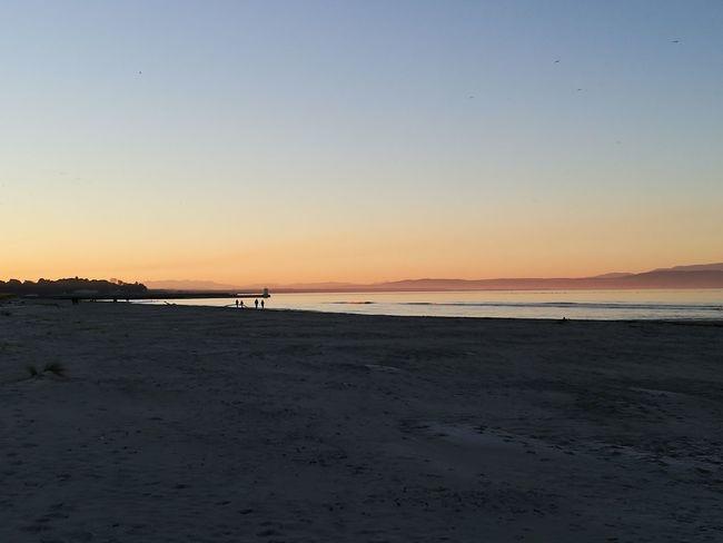 Beach Sunset Sunset Nairn Scotland Beach Nairn