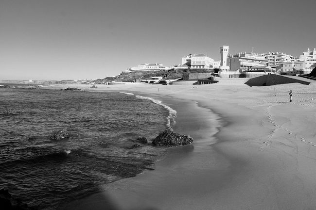 Sea Portugal Is Beautiful Monochrome Blackandwhite My Beautiful Place Winter Sun From Another Point Of View
