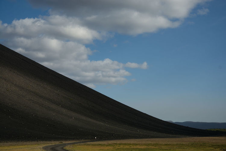 Hverfjall volcano Hverfjall Hverfjall, Iceland Scenics - Nature Landscape Beauty In Nature Outdoors Tranquility Curves Shadow And Light Traveling Travel Photography Volcano Myvatn Volcanic Landscape Slope Black Sands Island 17.62°