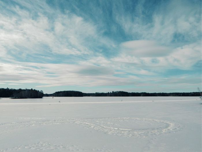 Älgsjön Location Fashion Travel Destinations Ice Frozen Lake Lake Sky Cloud - Sky Cold Temperature Winter Tranquil Scene Scenics - Nature Tranquility Beauty In Nature Nature Snow Environment Landscape White Color Non-urban Scene Outdoors Day My Best Photo