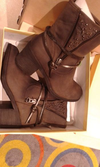 New Shoes Happy Girl :) Ready For Winter