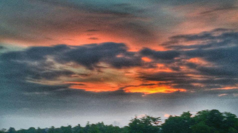 Sunrise Sky And Clouds Morning Ohio