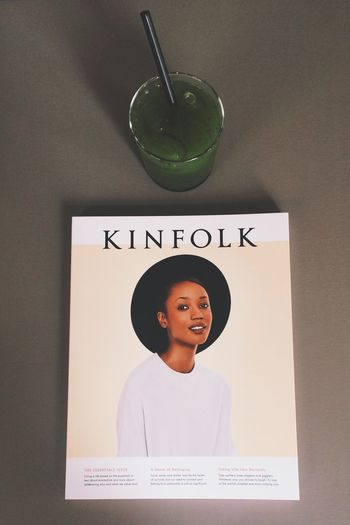 Me maself and Kinfolk. Weekend Hanging Out Berlin Design Magazine Style Simplicity Everyday Joy Green Juice