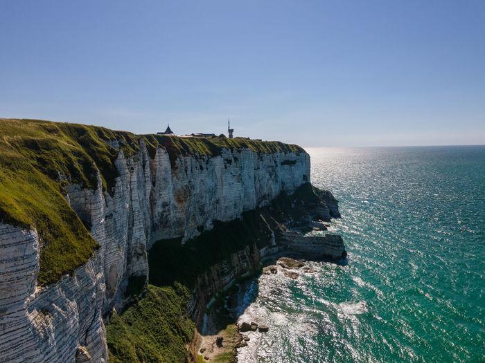 White french cliffs