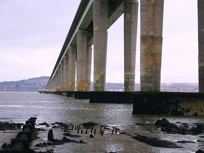 Tay Road Bridge Dundee Built Structure Water Bridge - Man Made Structure Architecture Outdoors Dundee Scotland HuaweiP9Photography Huawei P9 Leica HuaweiP9 Huaweiphotography River Tay
