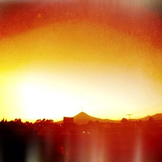 Ardor. Igerspuebla Contraste Scenery Mexico Yellow Puebla Paisaje Horizon Popocatepetl Cielo Contrast Amarillo Horizonte Cholula Mextagram Volcán