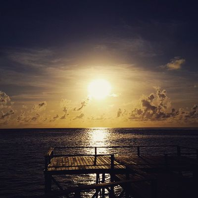 """""""For one minute, walk outside, stand there in silence, look up at the sky and contemplate how amazing life is."""" - Unknown. Exquisite Sunrise at Derawan Island, Eastborneo , INDONESIA (December 2014)."""