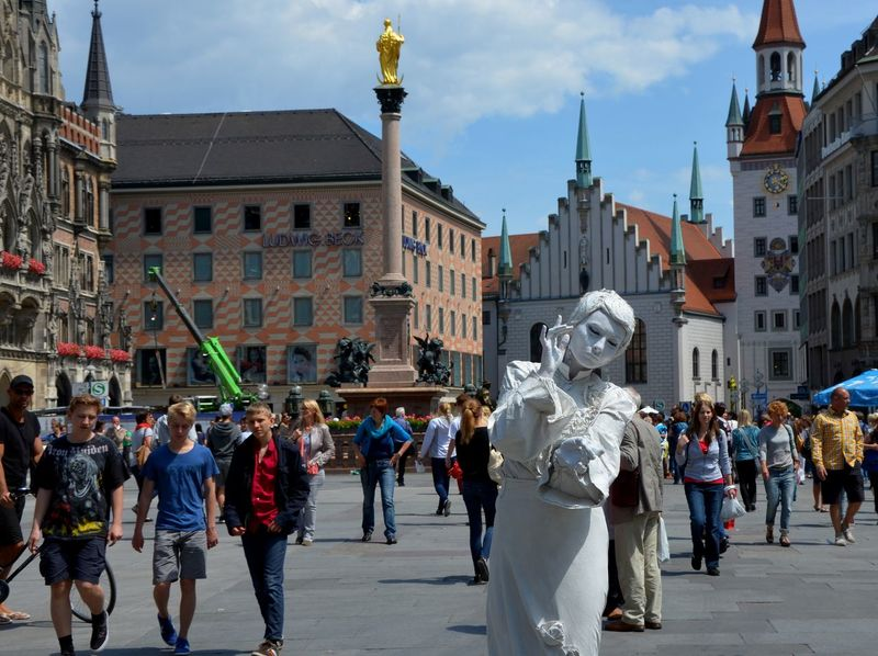 Mixing people City Face Mask Live Statue Mask People Photography Street Streetphotography