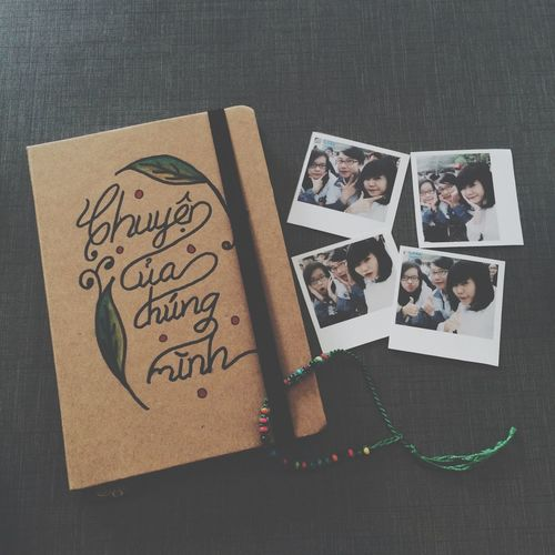 Our very first book ? Notebook Friend Diary Best Friends ❤ BFF ❤