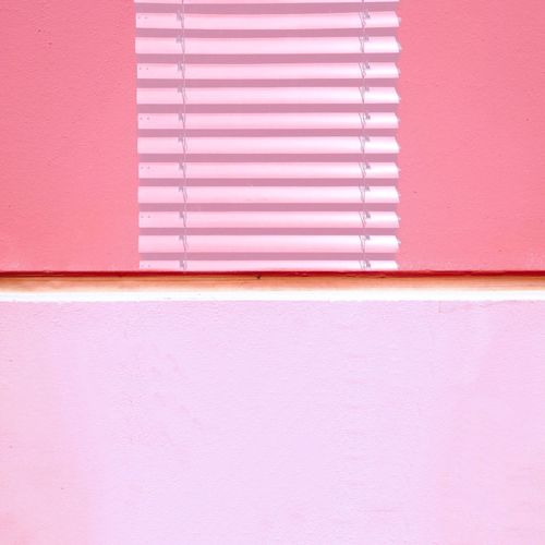 Close-up of wall and window shutter