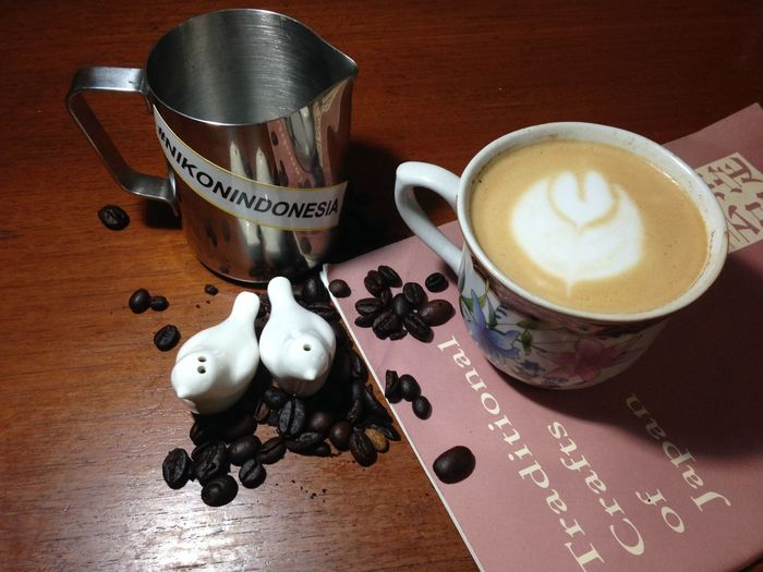 Photograph Coffee Cofreaddict Youngartist Ngopi Timur Jakarta INDONESIA Latteart