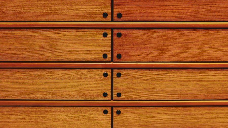 Full frame shot of drawer
