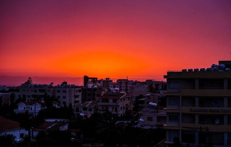 Sunset Sky Nikon D7000 Nikon Photo Photography Paphos Cyprus 35mm Nikon 35mm Dx 1.8