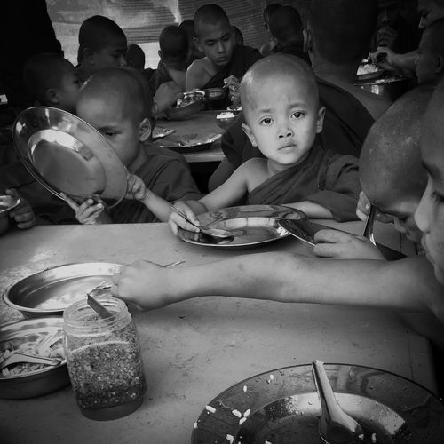 Orphan Myanmar IPhoneography