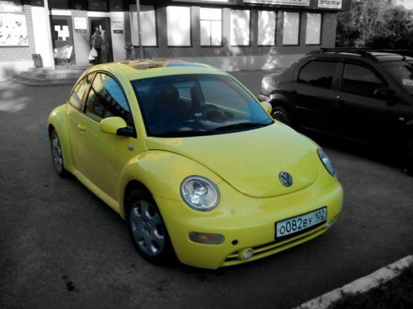 Car Yellow Black&Yellow Volkswagen