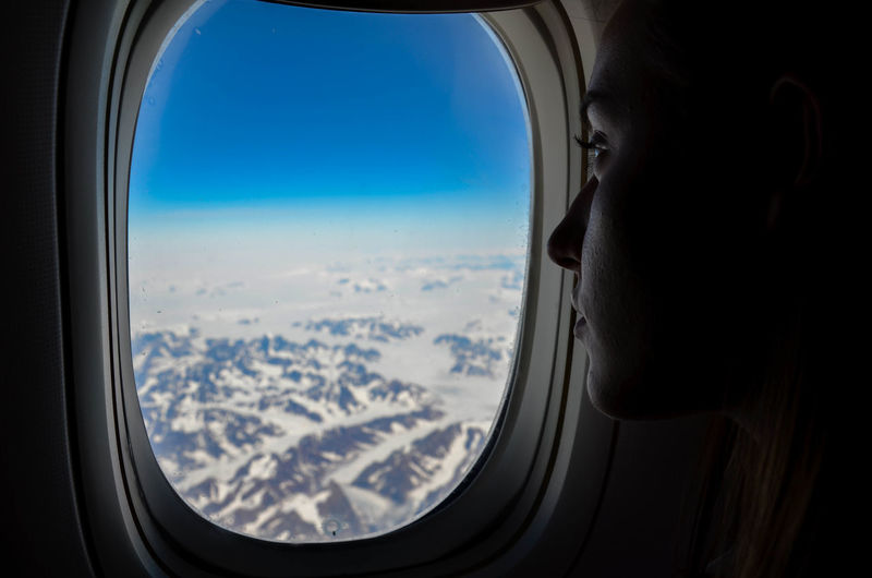 Hell: During off Season Exploring Ice Aerial View Air Vehicle Airplane Airplane Shot Airplane Wing Airplaneview Flying Horizon Over Water Journey Looking Through Window Mountain No People Northpole Northsea Remote Scenics Sea Sky Transportation Travel Travel Destinations Vehicle Interior Window